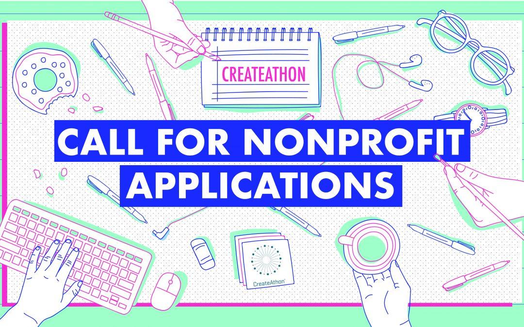 Help Your Nonprofit Change the World! Apply to CreateAthon for Pro Bono Marketing.