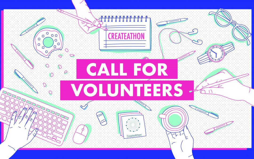 Calling All Creatives! Design for Good at CreateAthon 2019.